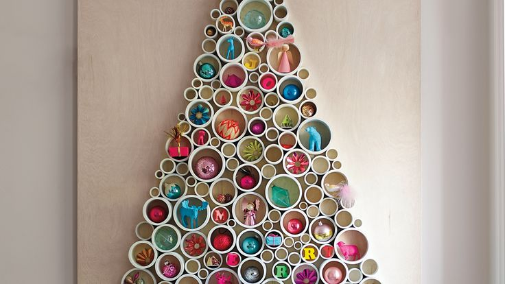 PVC-Pipe Tree and more on MarthaStewart.com
