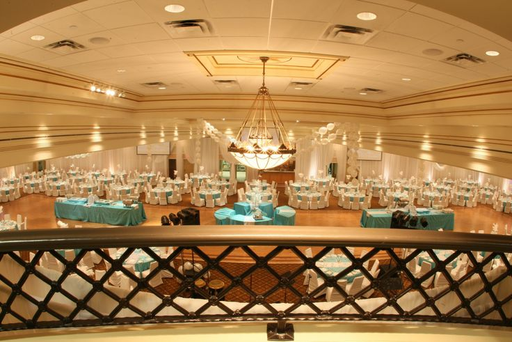 A great view of the banquet hall at The Terrace in Vaughan.