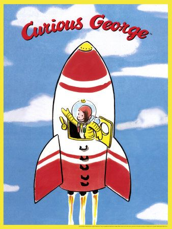 Curious George in Rocket
