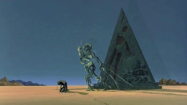 Destino is an animated short film released in 2003 by The Walt Disney Company. Destino is unique in that its production originally began in 1945, 58 years before its eventual completion. The project was originally a collaboration between American animator Walt Disney and Spanish Surrealist painter Salvador Dalí.
