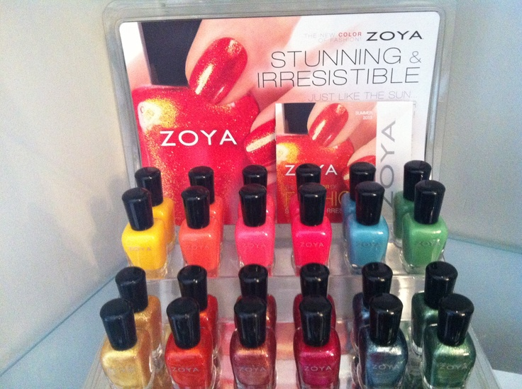 Ooh, La, La Boutique in Milton now has the new Collection of ZOYA polishes, Stunning and Irresistible!!