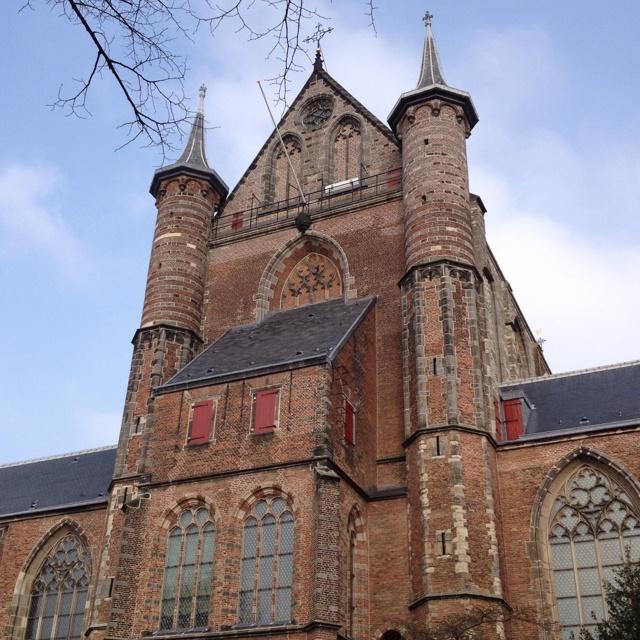 900 year old churches  Leiden, Netherlands