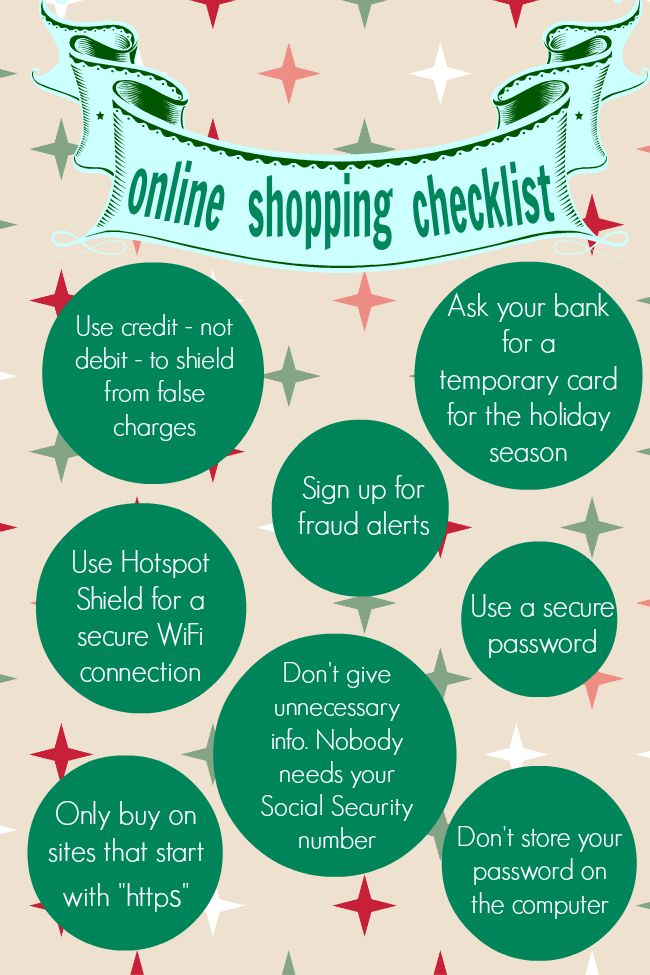 Shopping online security