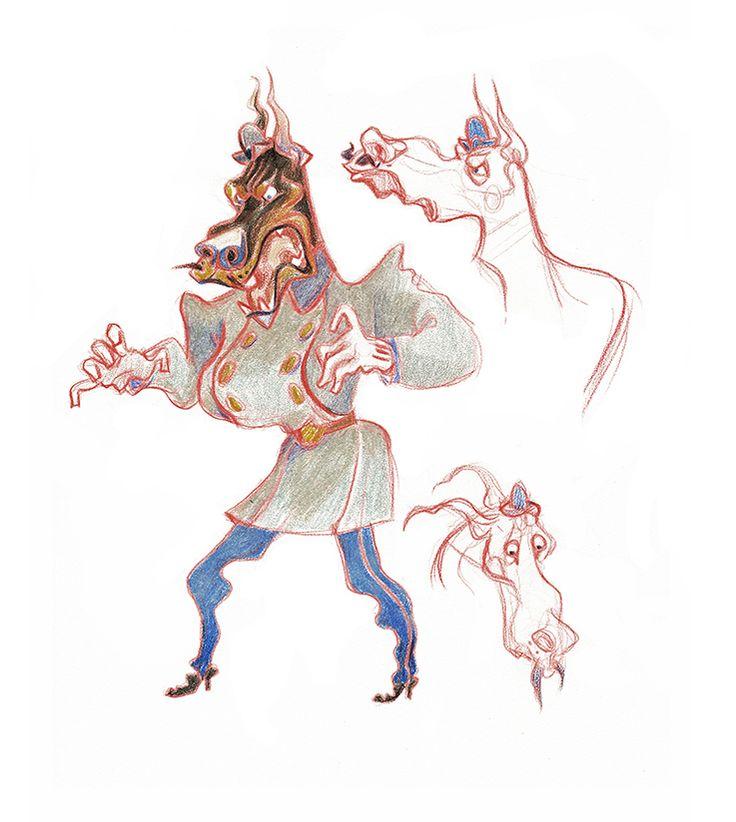 Эскизы персонажей книги: first_sin
