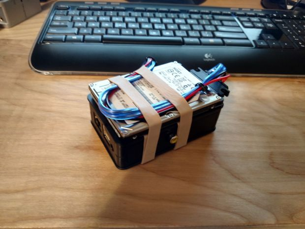 Another Banana Pi NAS box