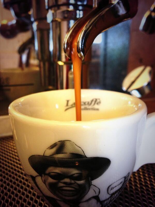 Lucaffe espresso on Vibiemme espresso machine.