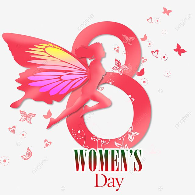 Happy Women S Day March 8 Png Free Download Happy Womens Day Png Free Womens Day Png Womens Day Vector Png Transparent Clipart Image And Psd File For Free Do Aesthetic