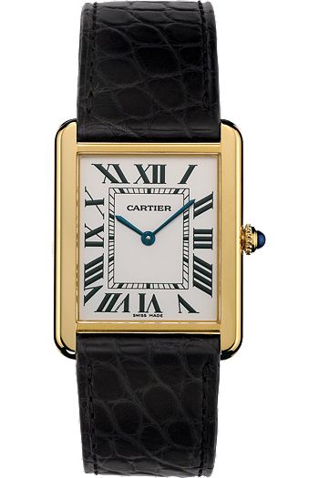 Cartier Tank Watch. I love this watch! One of my favorite gifts from my smart loving husband.