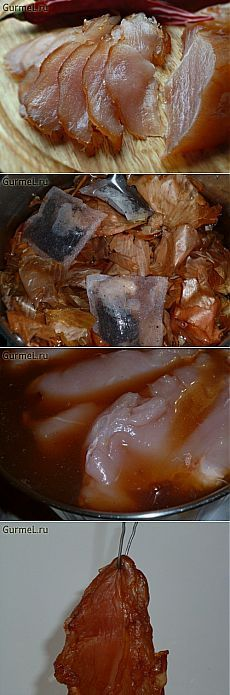 Карпаччо из куриной грудки (быстро и бюджетно). Пошаговые фотографии. GurmeL