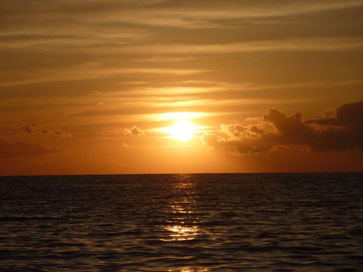 sunset Anaxos Beach , Lesbos