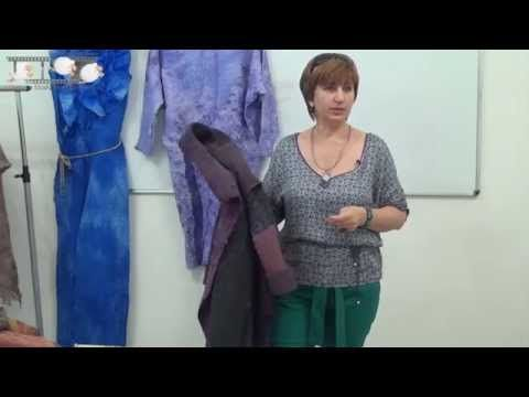 Ирина Садыкова. Легкое пальто свободного силуэта