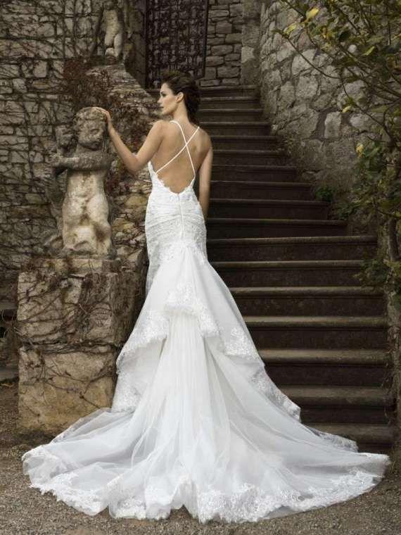 Vestiti da sposa schiena scoperta 2016 (Foto) | Stylosophy