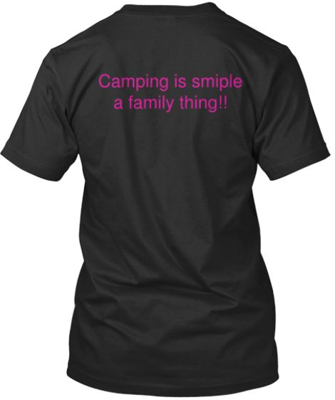 Camping Makes Me Happy | Teespring