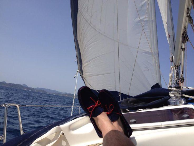 En los mares de Ibiza