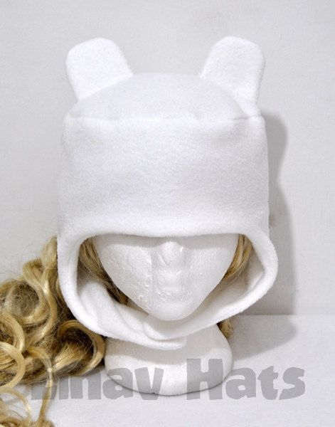 Finn Adventure Time Hat by EinavIzack on Etsy, $24.00