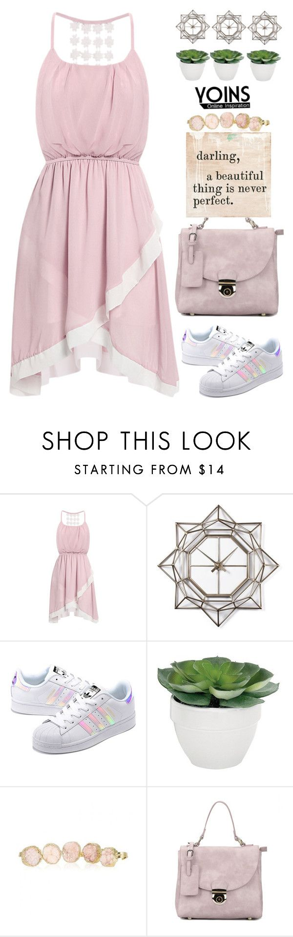 """Yoins (15)"" by itsybitsy62 ❤ liked on Polyvore featuring WALL, adidas Originals, Torre & Tagus, Sugarboo Designs, yoins, yoinscollection and loveyoins"