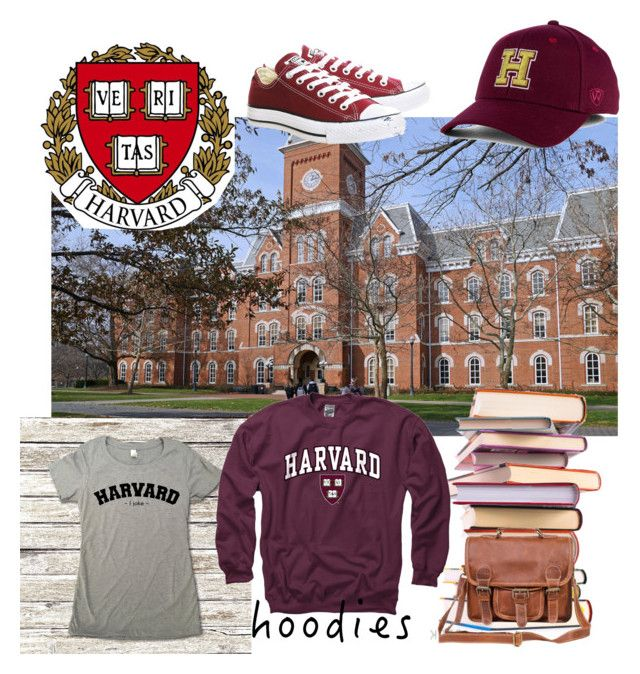 """""""University hoodies"""" by lillialessandra on Polyvore featuring Top of the World, Converse, Mahi, Gameday Boots and Hoodies"""