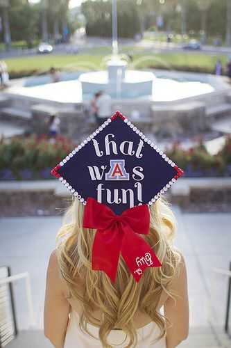 University of Arizona Senior Graduation Photos Tucson Arizona Bear Down