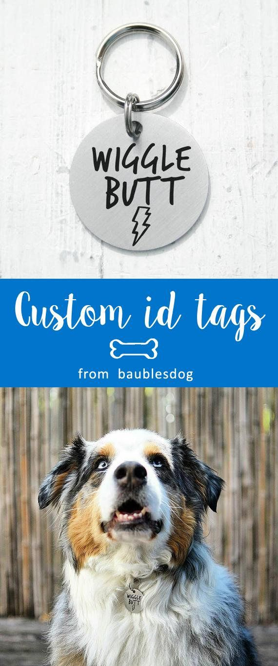 wiggle butt, round Dog Tag, Customized Pet ID Tag Name Tags, custom two-sides tag, dog tag, id tag for dogs, id tag for cat, dog lover gift, dog collar, Customized Pet ID Tag, dog collar, id tag design, id tag diy, keep calm and call my mom