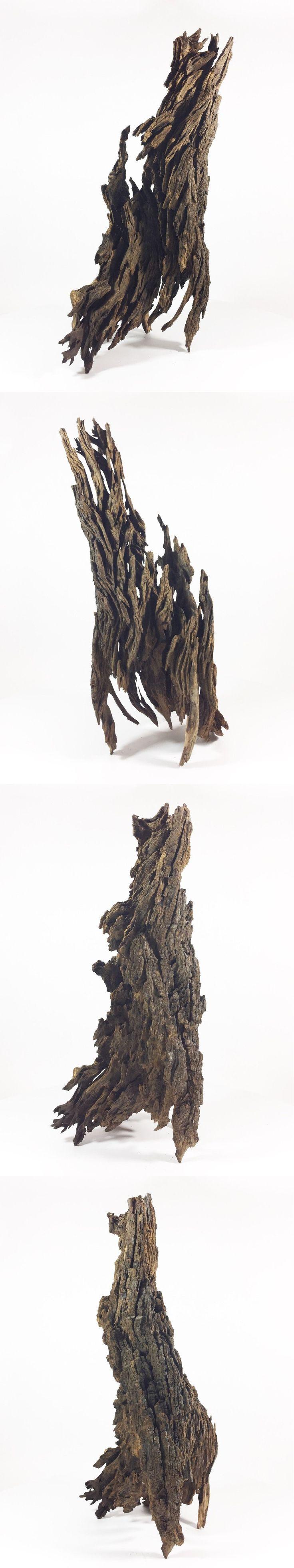 Animals Fish And Aquariums: 17Hx8l Driftwood Sculpture For Aquarium Aquascape Fish Tank BUY IT NOW ONLY: $41.96