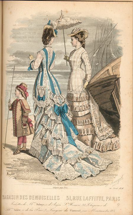 1870s fashion plate Scrapbook.OMG I want to have it printed onto a canvas and put it above my mantel