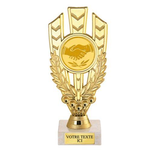 Trophée Plastique X5711 - récompense sportive - trophee-pas-cher.com