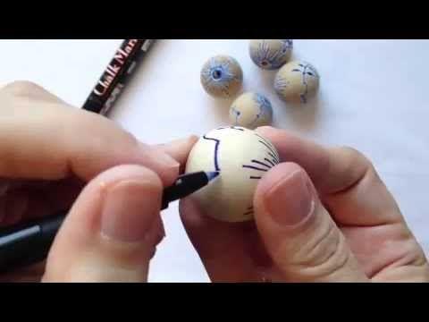 Mussel på træperle - YouTube