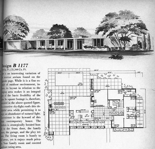 Almost the perfect plan for a forever home  Find this Pin and more on Mid  Century Modern Houses and Floor  1097 best Mid Century Modern Houses and Floor Planes images on  . Mid Century Modern Home Floor Plans. Home Design Ideas