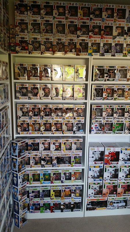Funko display, I thought I was bad, yet i am getting close