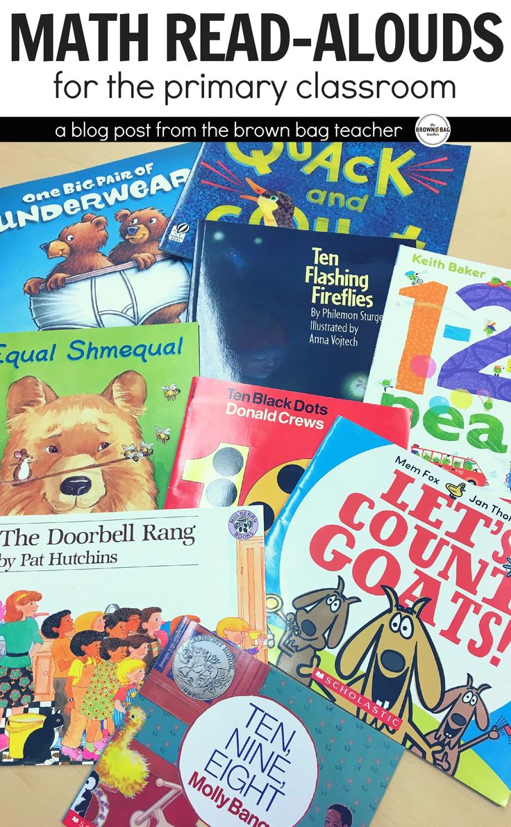 Math mentor texts are the perfect 'hook' for math mini-lessons. These 5 math read alouds are just-right for fostering strong number sense in primary learners.
