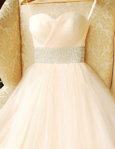 Tulle long strapless sweetheart corset long prom by sunpeng2011, $189.00