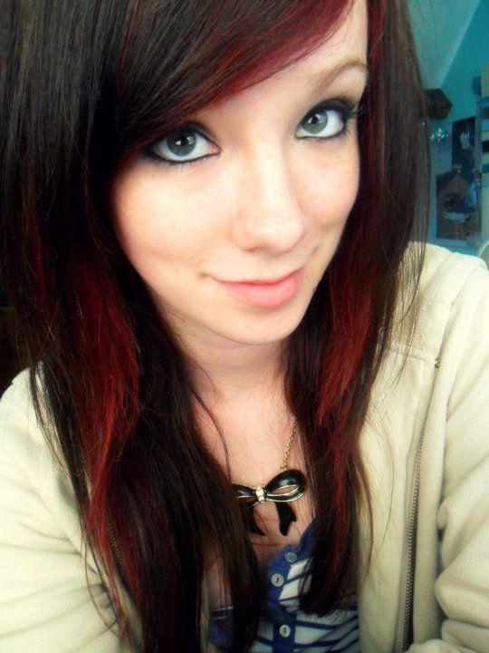 Best 25+ Red hair underneath ideas on Pinterest | Red foils hair ...
