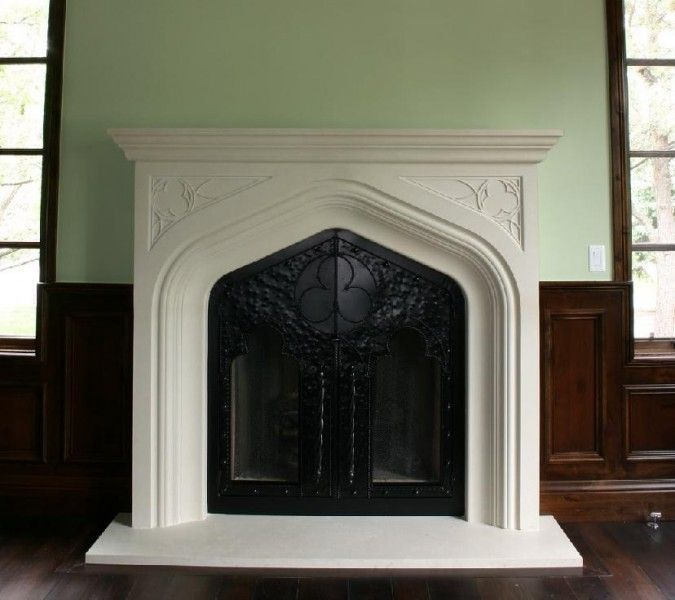 244 best images about corner fireplaces on pinterest for Tudor style fireplace