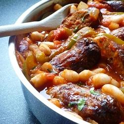 Italian Sausage Casserole 5 min prep 30 min cook time