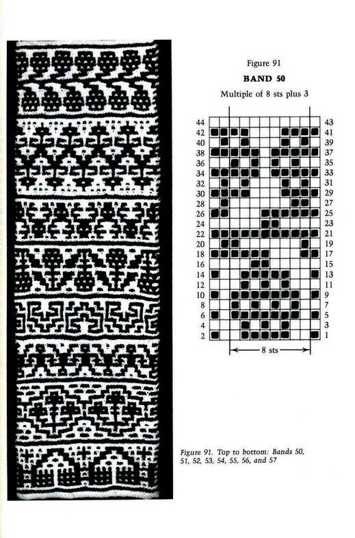 Mosaic Knitting Barbara G. Walker (Lenivii gakkard) Mosaic Knitting Barbara G. Walker (Lenivii gakkard) #128