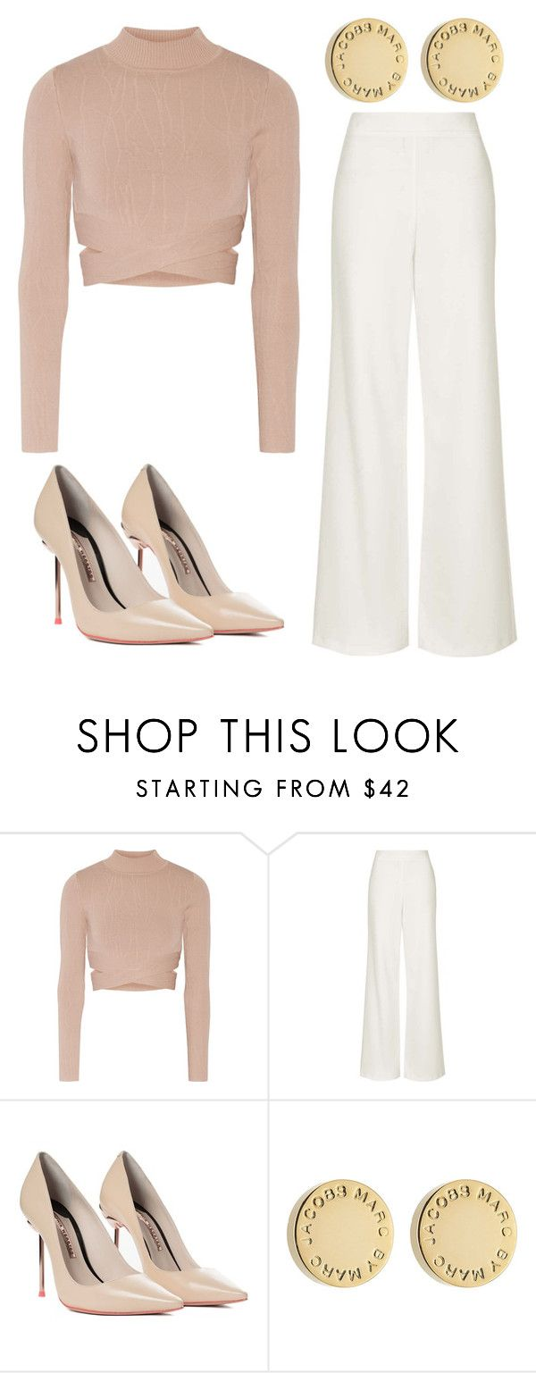 """""""Outfit Idea by Polyvore Remix"""" by polyvore-remix ❤ liked on Polyvore featuring Jonathan Simkhai, Topshop, Sophia Webster and Marc by Marc Jacobs"""