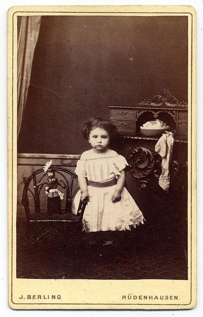 Maria Schönborn  With Doll by josefnovak33, via Flickr