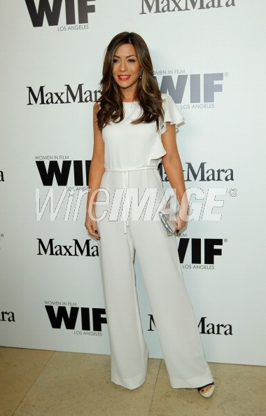Marisol Nichols in Max Mara at the Max Mara Cocktail Party for Women In Film