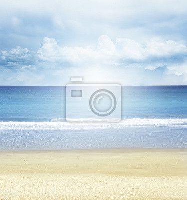 Fototapeta Plaża, morze i słońce.