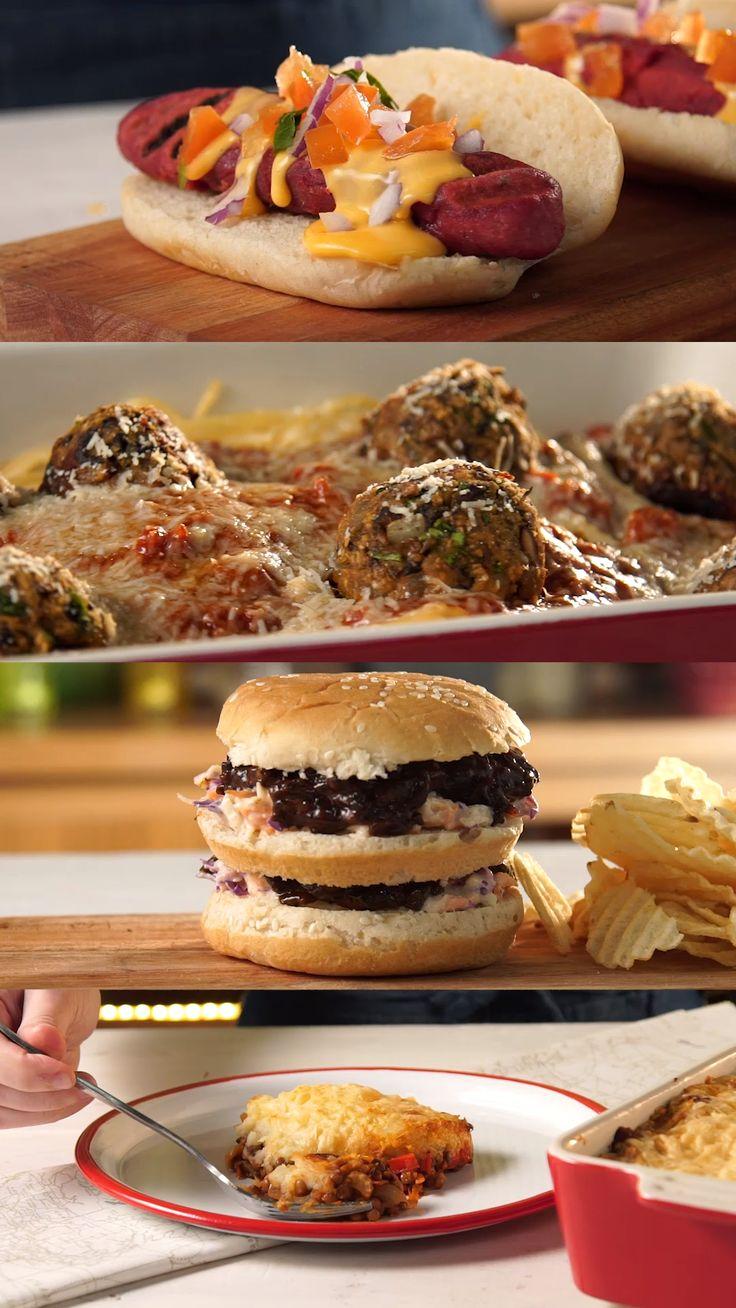 A veces las apariencias engañan... 😈 Vegan Recipes Videos, Tasty Videos, Veggie Recipes, Food Videos, Cooking Recipes, Healthy Recipes, Mediterranean Vegetarian Recipes, Food Porn, Vegan Dinners