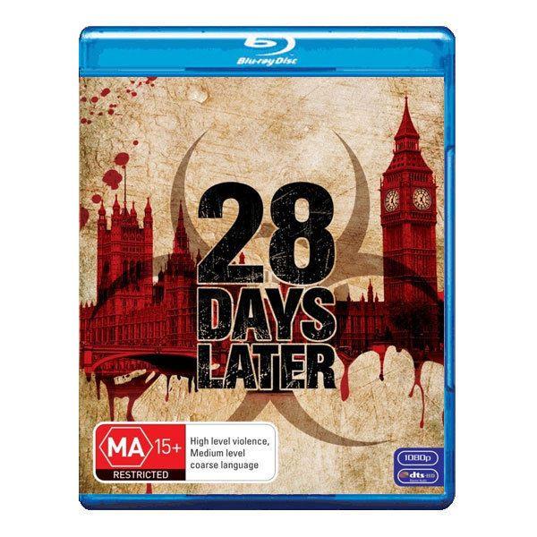 28 Days Later Blu-ray Brand New Region B Aust.