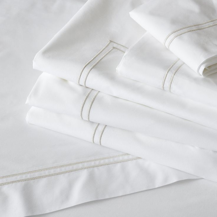 Double Row Cord Bed Linen Set | Bed Linen | The White Company UK