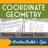Coordinate Geometry- Plotting and Naming Points in the Coo