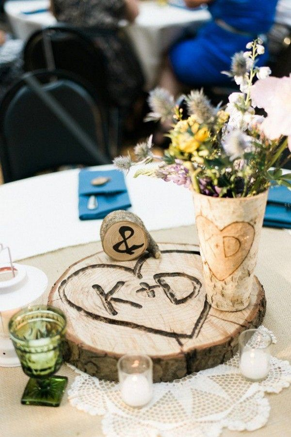 ideas for wedding tables decoration 17 best ideas about tree stump centerpiece on 5075