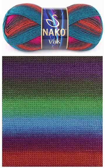 Vals / / Nako Klasik / EL ÖRGÜ İPLİĞİ / Nako (Fenna)