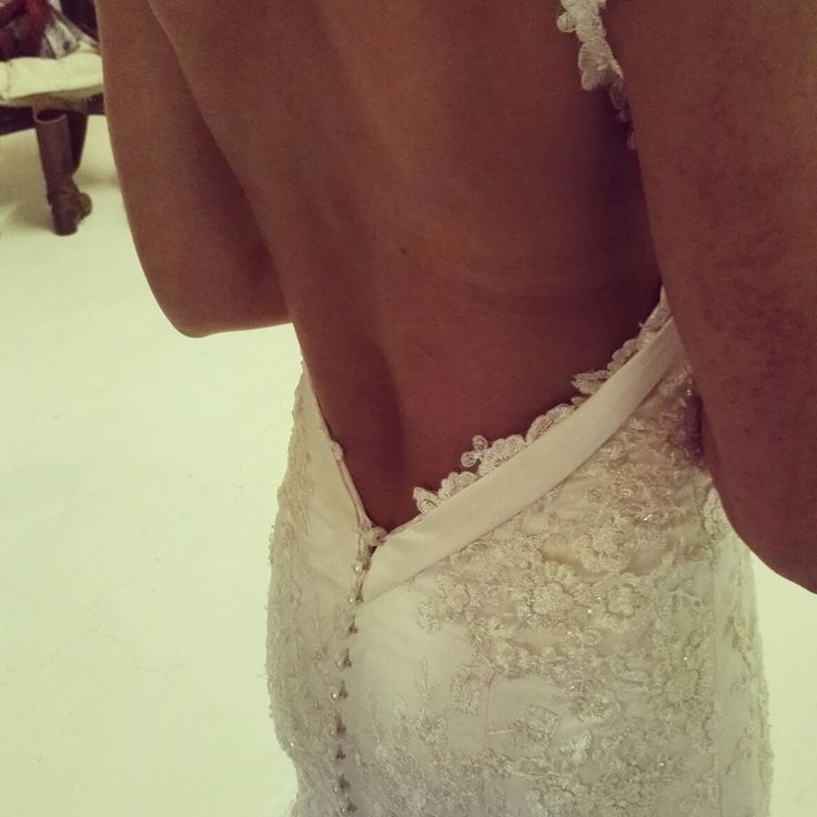 Gorgeous back @Bridal Alchemy