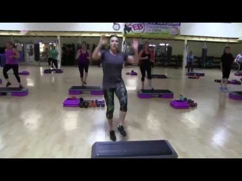 Cathe Live Step HiiT Class - May 15,2014 - YouTube