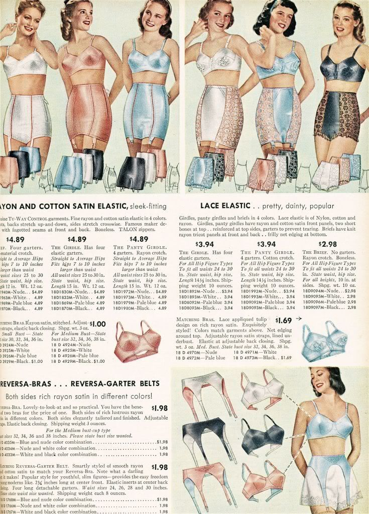 Sears Roebuck And Co Catalog From 1948 Ladies