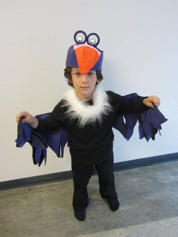 jungle book vulture costume | Upcycled Steampunk Clothing, Vulture Costume, Jungle Book Costume ...