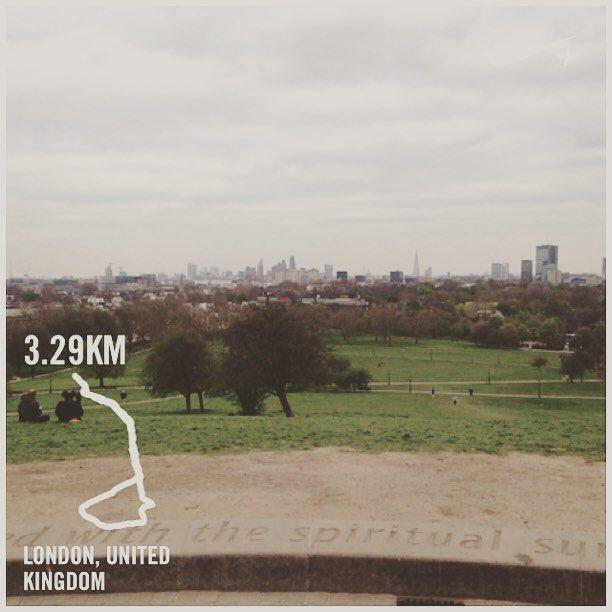 A mini muddy run to start the week. Thanks for the views Primrose Hill! #running #thisgirlcan #london #nw3 #northlondon #fitness #parkrun